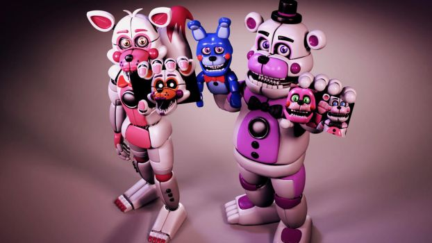 Funtime 2 (SFM FNAF) by TheSitciXD