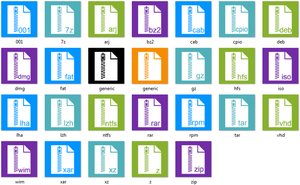 Metro Compress Icons by cristianhcd