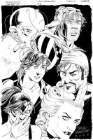 SECRET SIX #6 Full Page Splash NICOLA SCOTT by DRHazlewood
