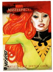 Upperdeck sketch card Phoenix by Devilpig