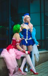 Macross Frontier: Two Divas by RaniNyan