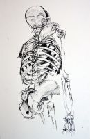 Drawing I Ink Study by faustbane