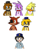 Five Nights at Freddy's Concept by PKMNTrainerSpriterC