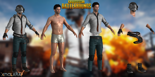 PlayerUnknown's Battlegrounds (PUBG) - Male by TSelman61