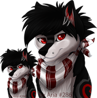 Tolsi Headshot commission by silvermoonfox