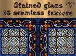 Stained glass seamless texture by jojo-ojoj