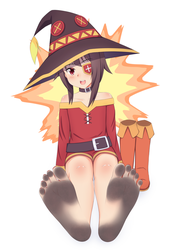 Let's Practice Explosion Magic!~ - dirty feet by Lululewd
