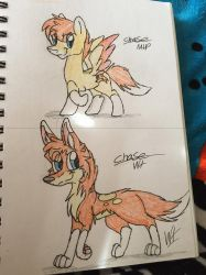 Mlp chase and Wt chase  by Wolftales158Art