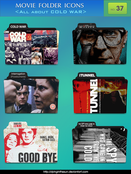 Movie folder icons NO.37 _All about Cold War_ by dyinginthesun