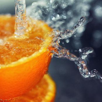 orange juice by PatrickRuegheimer