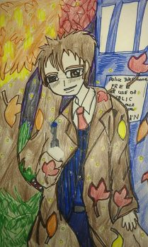 Tenth Doctor - Autumn by wanderinspirits7