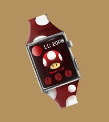 Red Mushroom - Apple Watch by Snow-Daisy