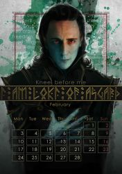 Geek Calendar 2014: February by Sceith-A