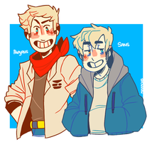 human skelebros by mikarons