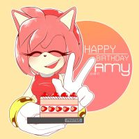 HBD amy by Pikative