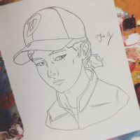 Clementine  by GameOverJoey
