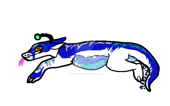 Lizard jelly belly CLOSED by Meekshi-adopts