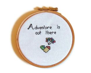 Disney Pixar Up Cross Stitch by Over-DramaticDesigns
