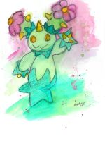 Maractus Watercolor by EmmersDrawberry