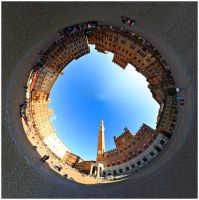 Inception of  Piazza del Campo by pmd1138