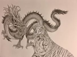 When Tiger Meets Dragon by ksdesigns16