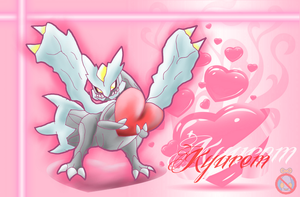 CE: Kyurem Love Wallpaper