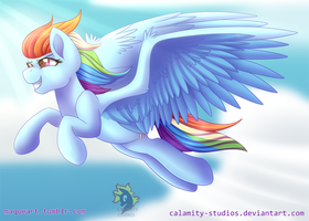Dashing Through the Sky by Calamity-Studios