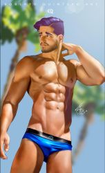 I LOVE BLUE by elGuaricho