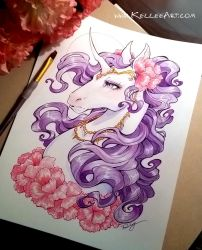 Unicorn by KelleeArt