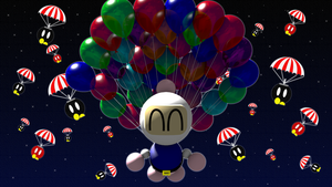 Balloons -Night- by picano