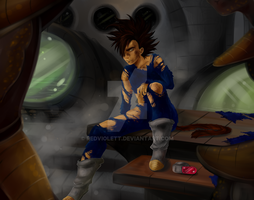 DBZ: Awaiting new orders by RedViolett