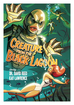 The Creature from the Black Lagoon [cinemarium] by ivewhiz