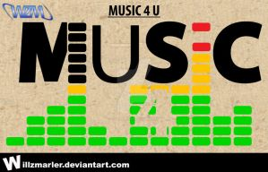 Mock Logo - Music 4 U by WillZMarler