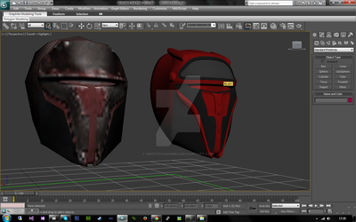 [CONCEPT][3DS MAX] Darth Revan ReModel - Preview by DroitechGames