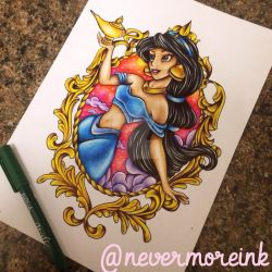 A whole new world by Nevermore-Ink