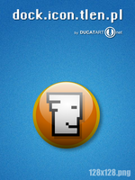 Glass Icon Dock Tlen by ducatart