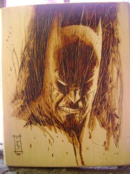 batman sienkiewicz style by burninginkworks