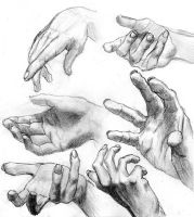 Study - Hands by MalteBlom