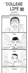 College Life - Exam Week by osy057