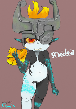 Midna's Smooth-Steppin' by Xenogenisis-Wolf