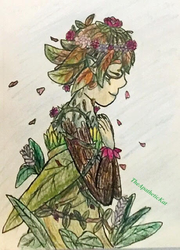 Dryad Pidge by TheApatheticKat