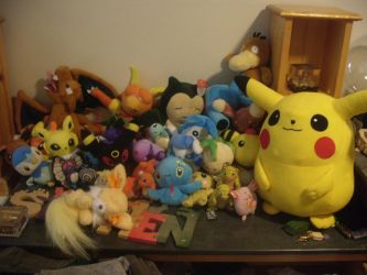 Pokemon Plush Collection! by JustAnotherUser13