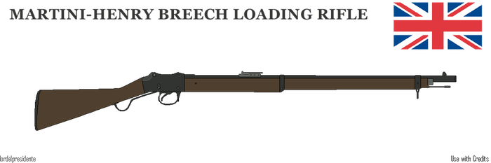 Martini Henry Rifle by lordelpresidente