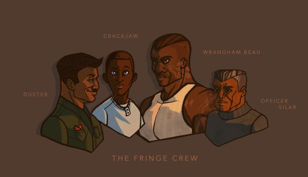 THE FRINGE CREW by StaciaJoy