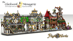 The Clockwork Menagerie + Flight Works by EndlessAges