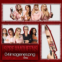 Scream Queens Photopack PNG #03 by Radiatestrength
