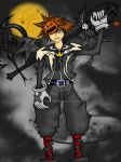 Halloween Town Sora by AniPirates