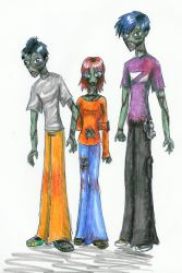 My Zombies by corre