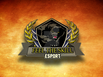 Embleme Feel the Skill ESPORT by Alucarssinent