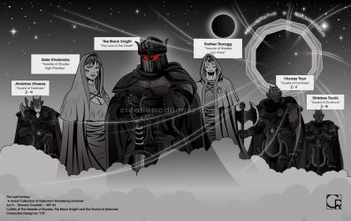 Bravery Crusade WIP #4 -  The Guard of Darkness by crcarlosrodriguez